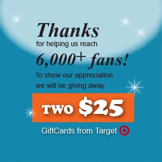 6000+ fans giveaway
