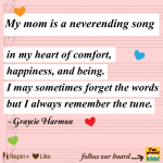 my mom is a neverehding songPin
